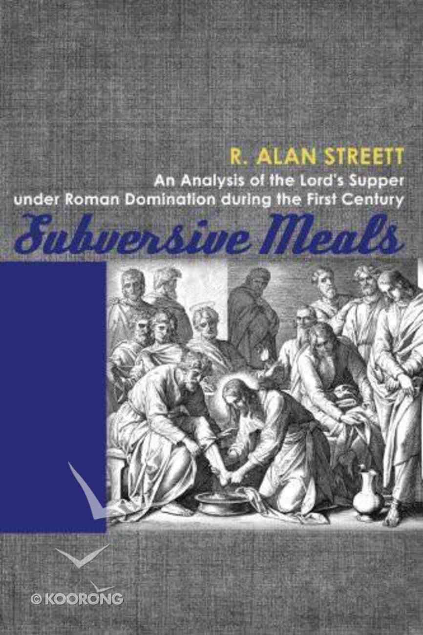 Subversive Meals Hardback