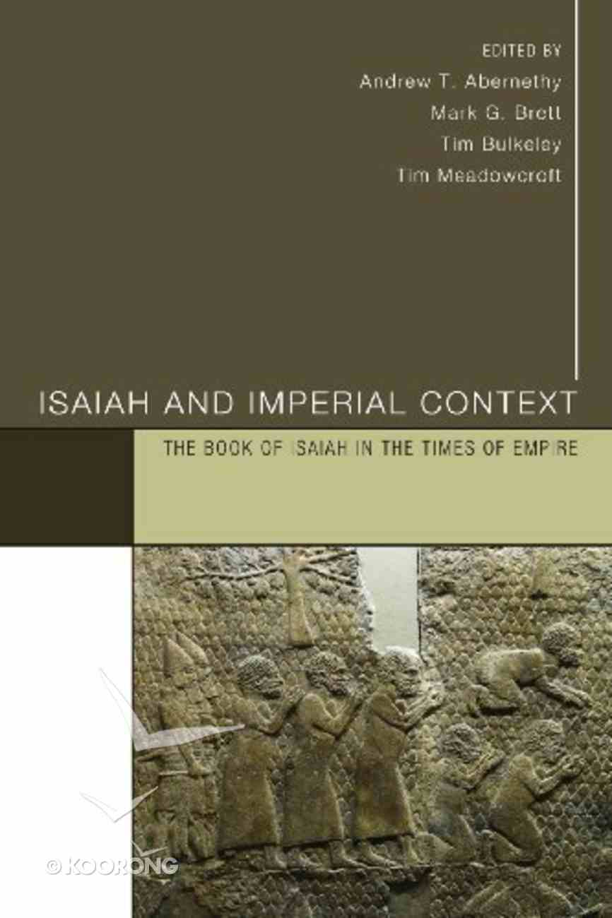 Isaiah and Imperial Context Paperback