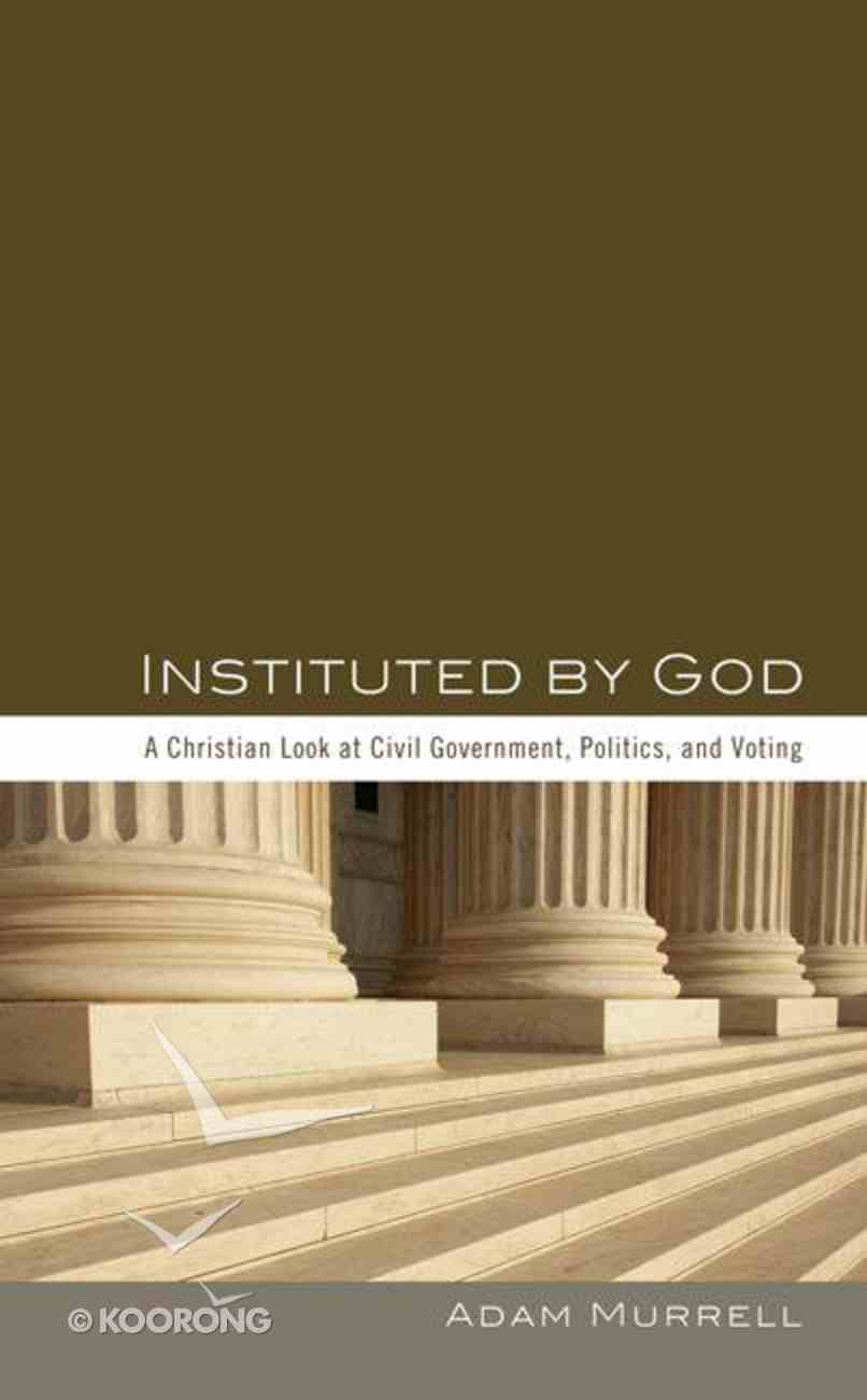 Instituted By God eBook