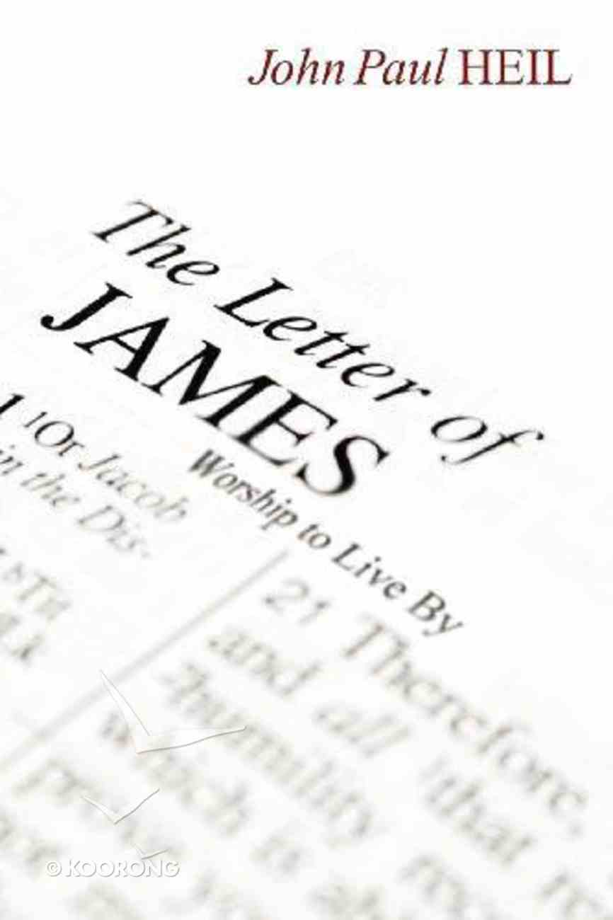 The Letter of James eBook