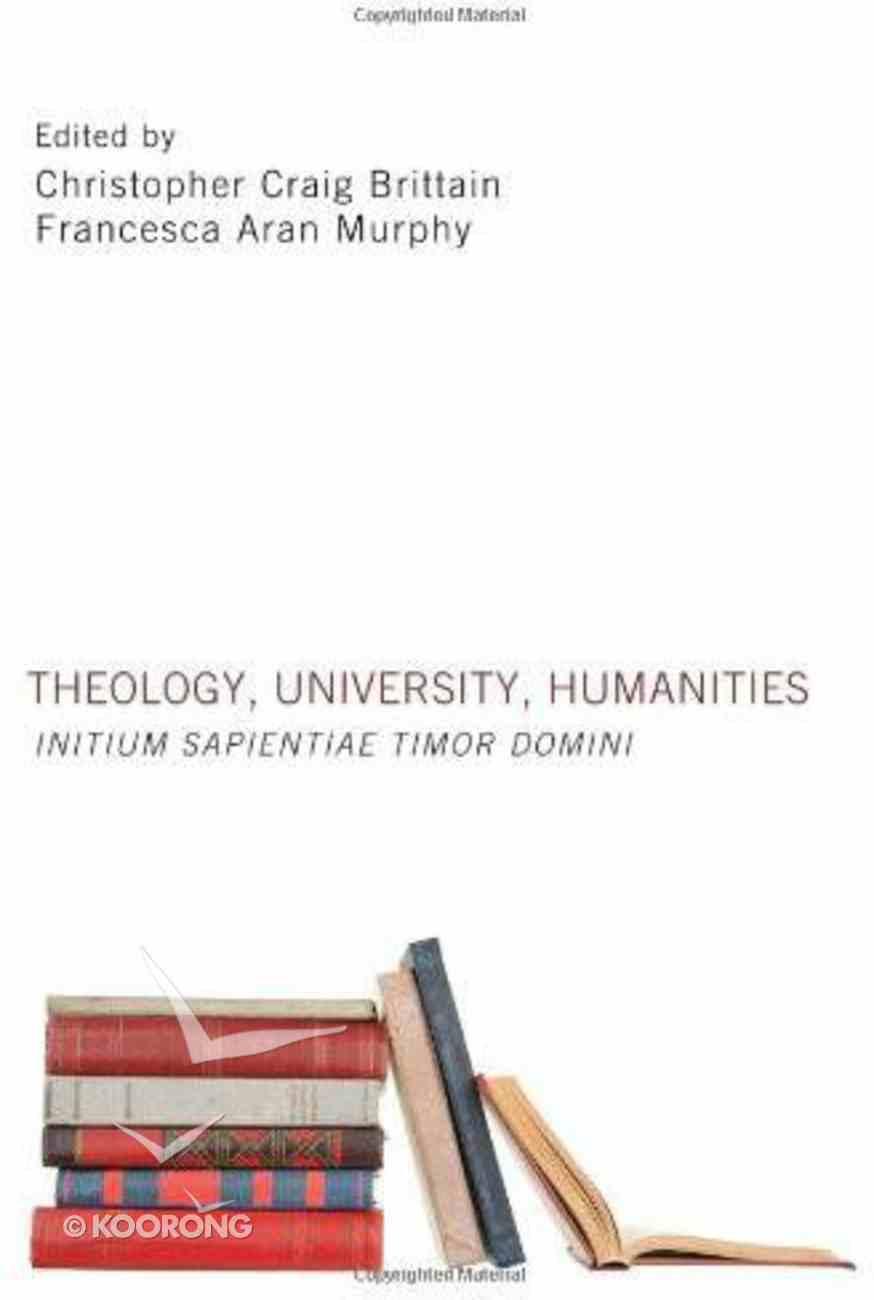 Theology, University, Humanities eBook
