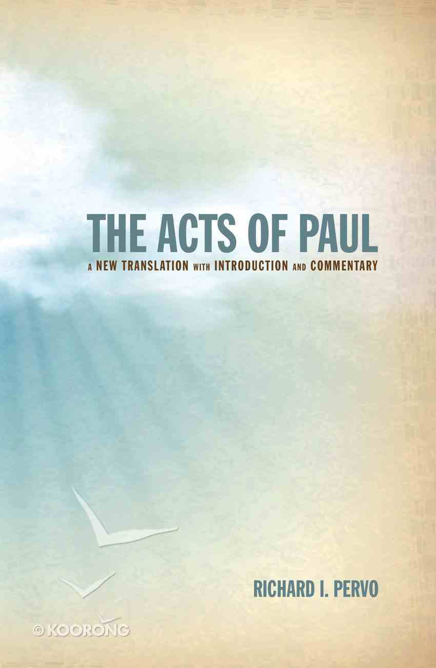 The Acts of Paul eBook