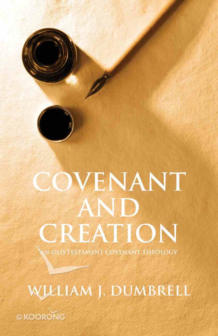 Covenant and Creation eBook
