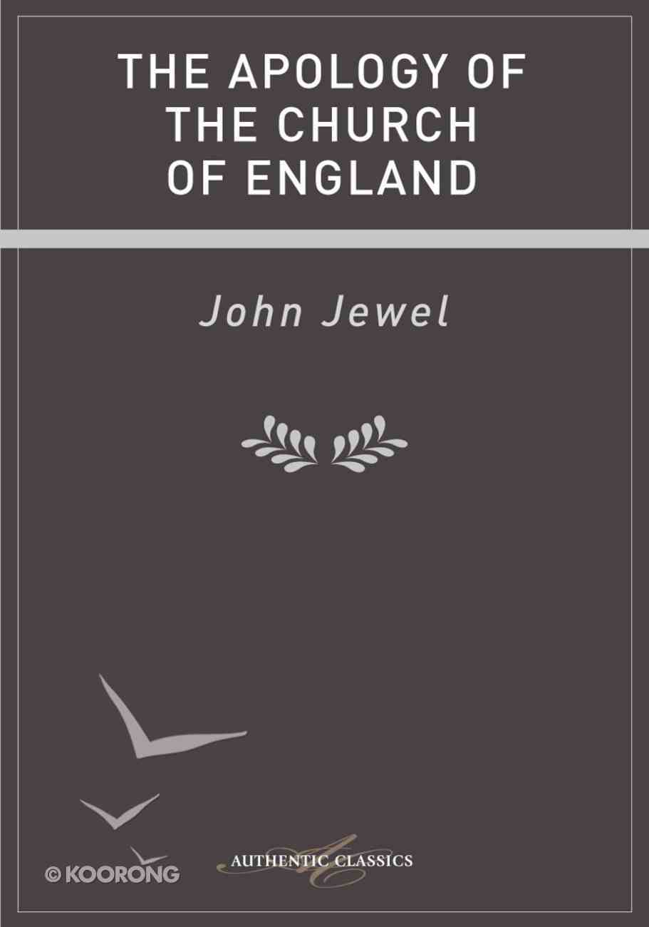 An Apology of the Church of England eBook