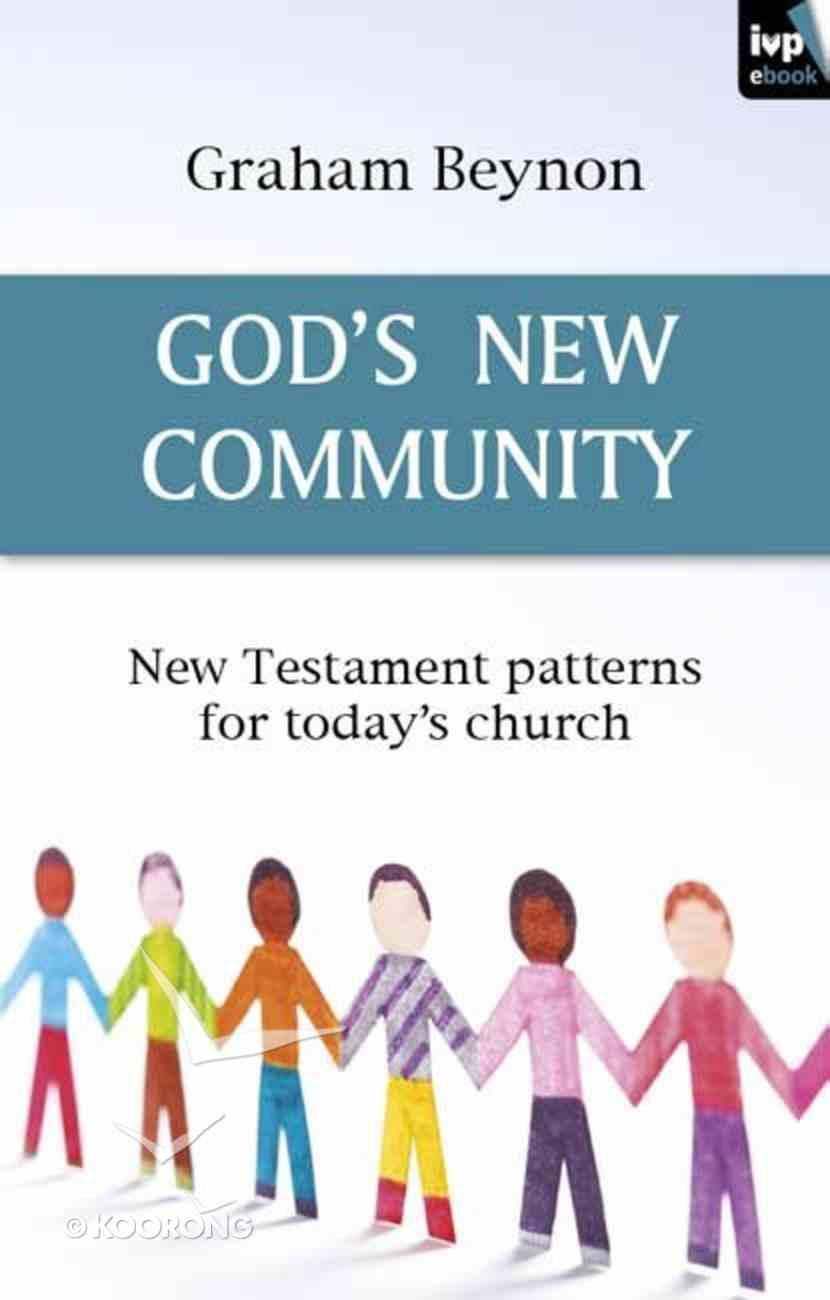 God's New Community eBook