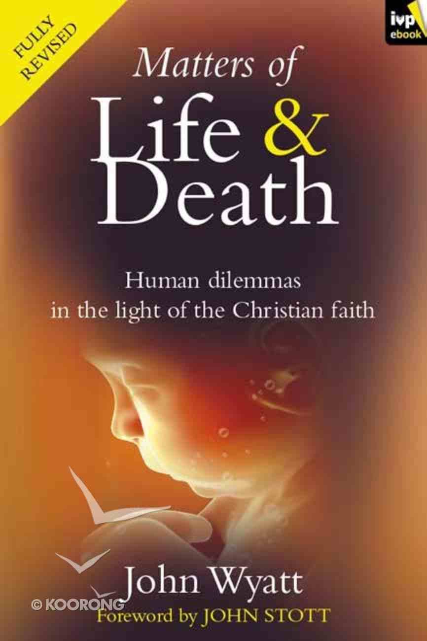 Matters of Life and Death eBook