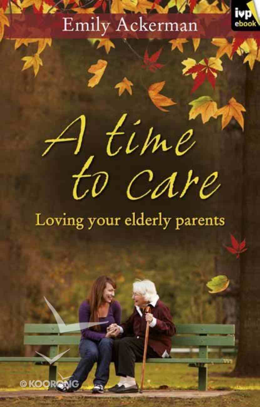 A Time to Care eBook