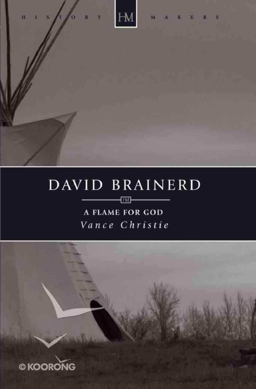 David Brainerd (Historymakers Series) eBook