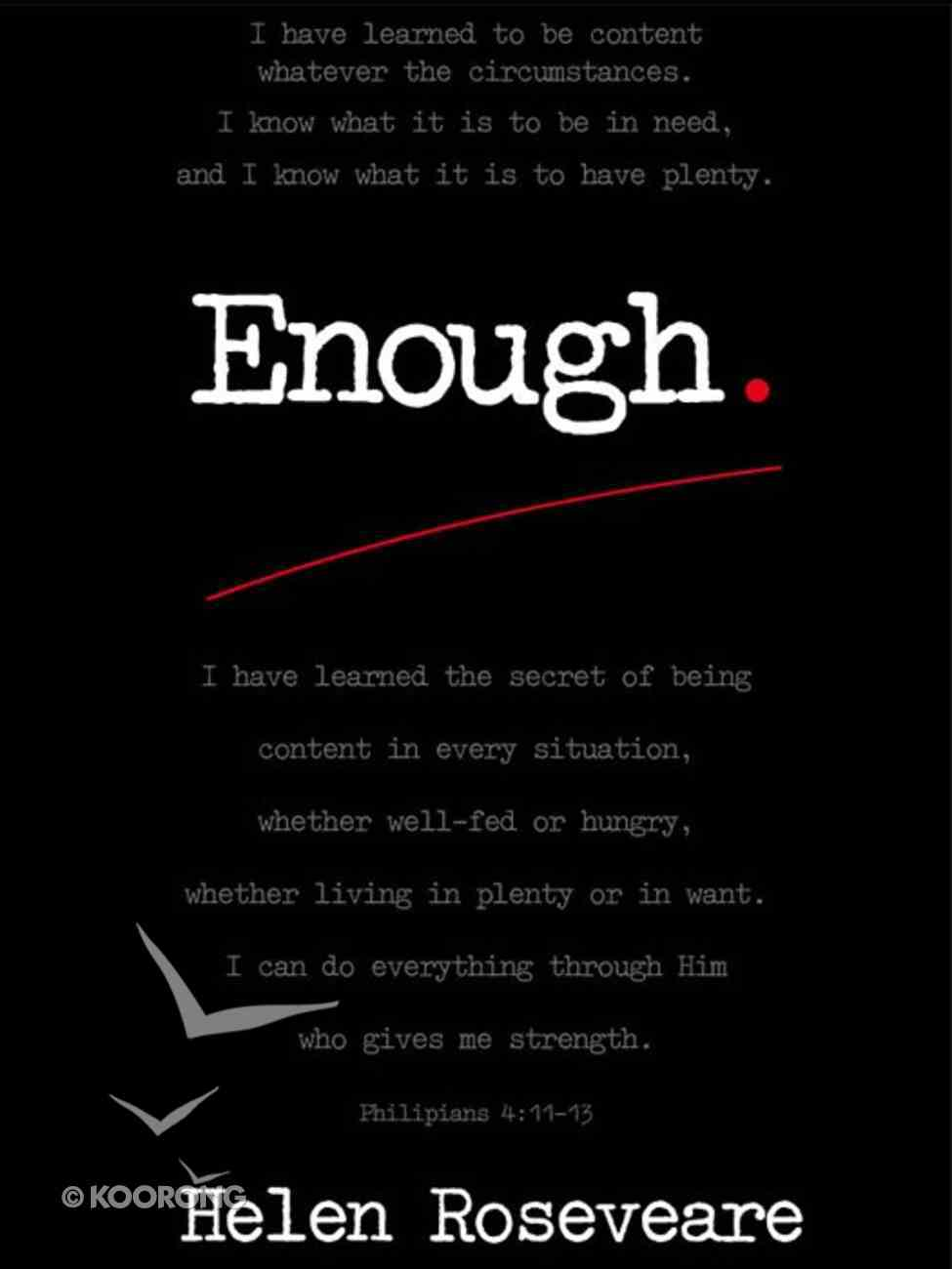 Enough! eBook