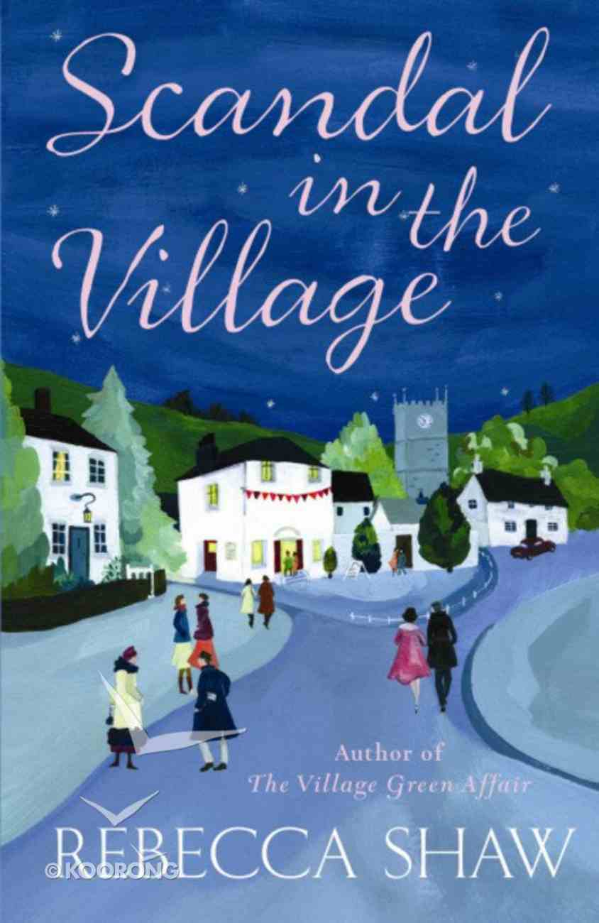 Scandal in the Village (#06 in Turnham Malpas Series) Paperback