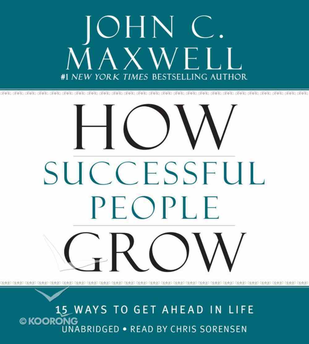 How Successful People Grow CD