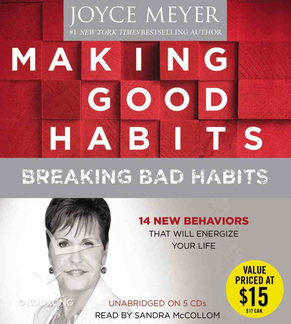Making Good Habits, Breaking Bad Habits CD