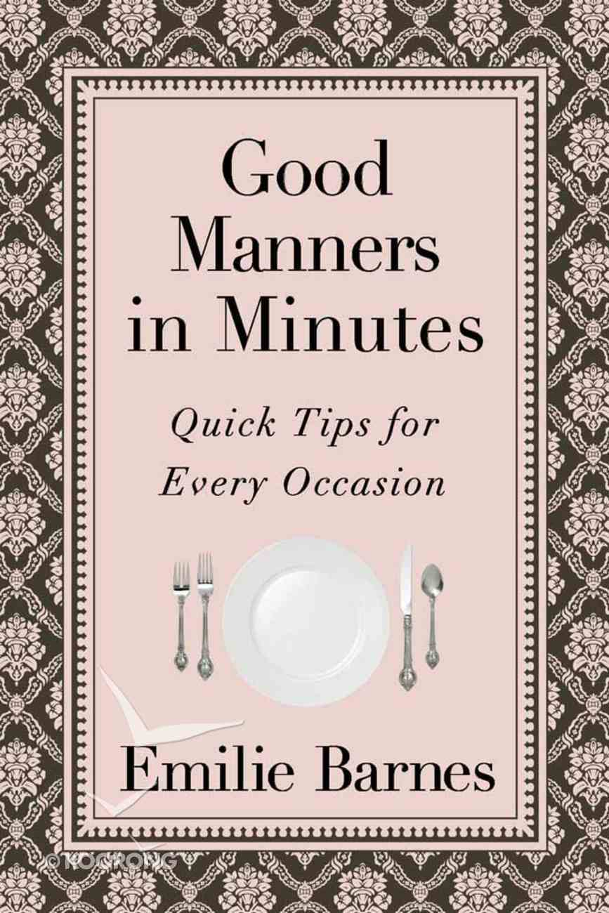 Good Manners in Minutes Mass Market