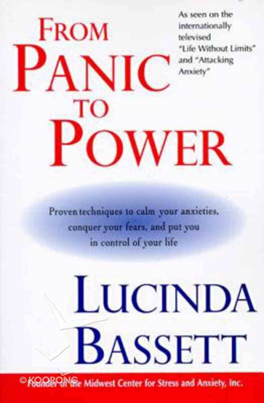 From Panic to Power Paperback