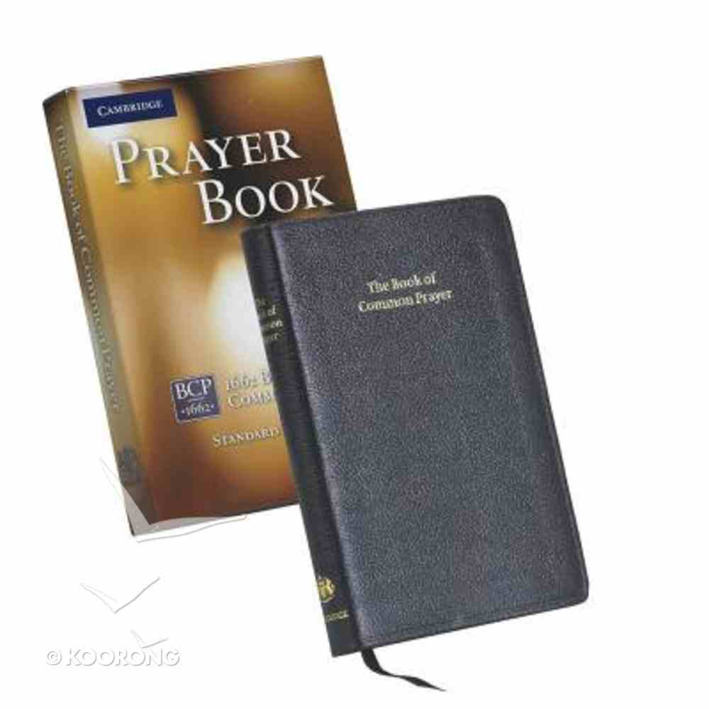 Book of Common Prayer Standard Edition Black Morocco Leather (Sheepskin)