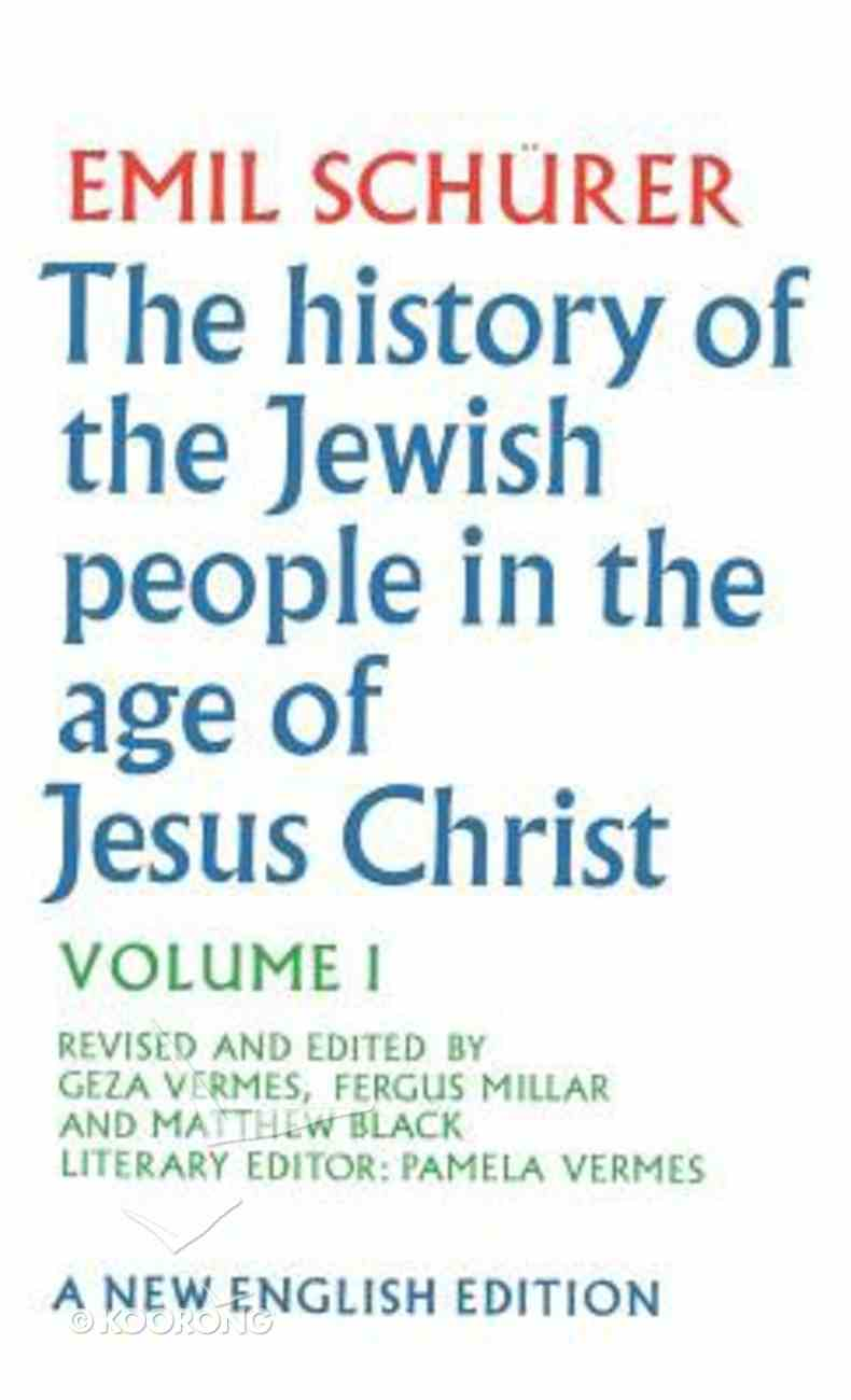 History of the Jewish People in the a Binding Code Hb Hardback-Ad) (Volume 1) Hardback