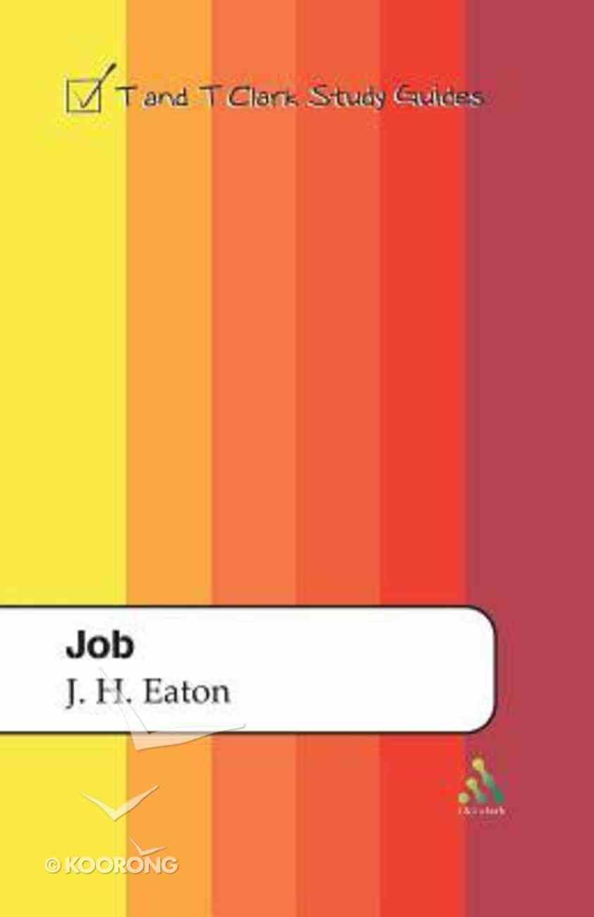 Job (T&t Clark Study Guides Series) Paperback
