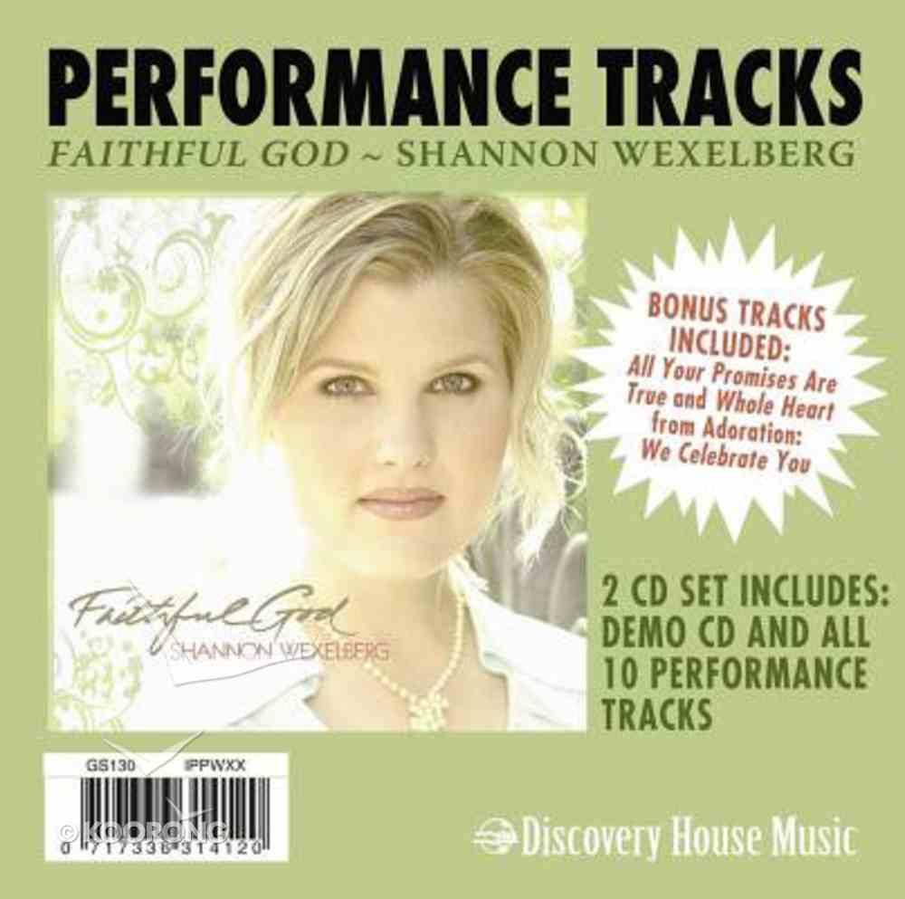 Faithful God (Accompaniment Tracks) CD