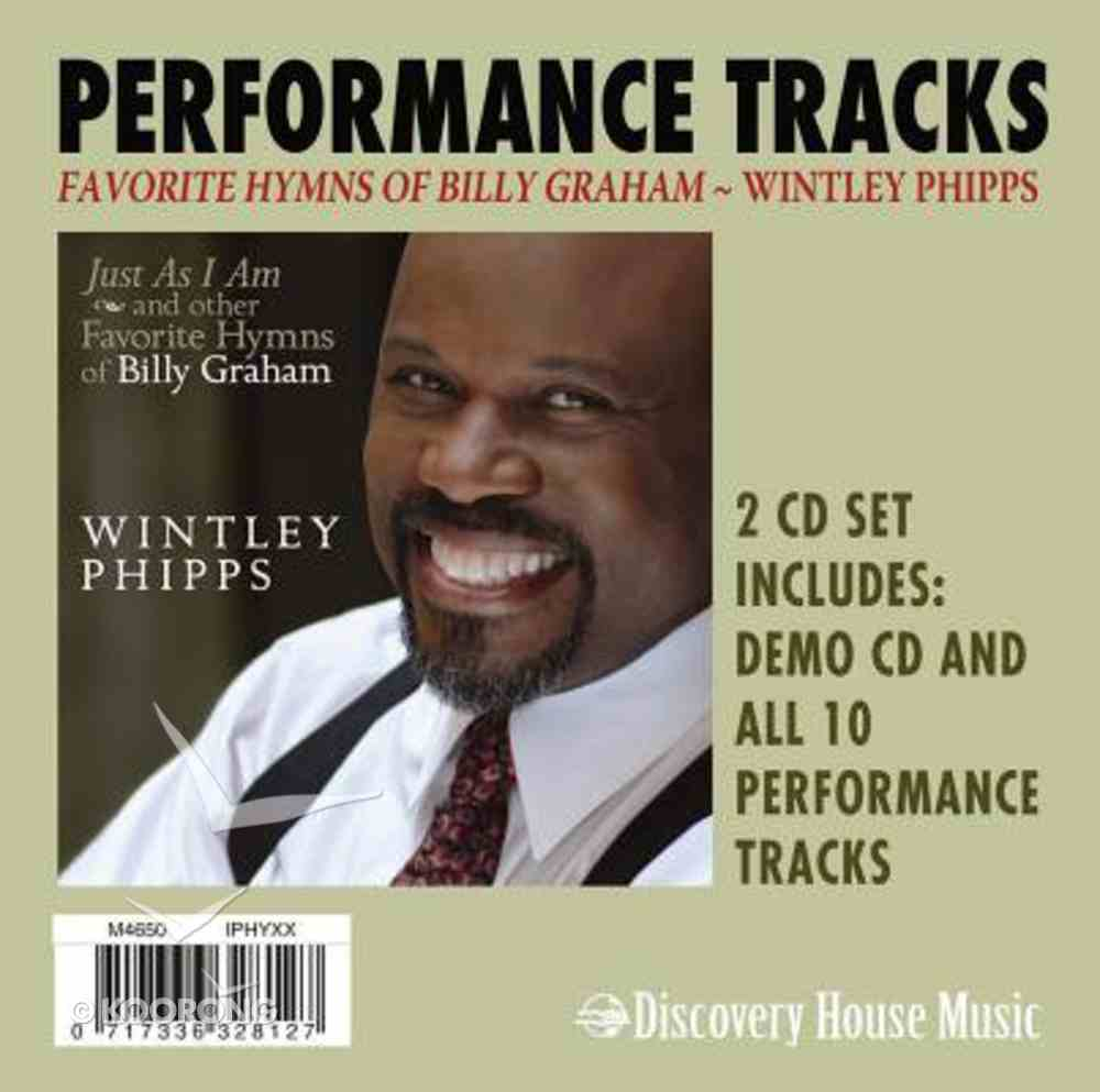 Favorite Hymns of Billy Graham (Accompaniment) (Performance Tracks) CD