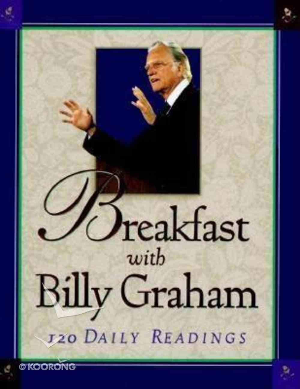 Breakfast With Billy Graham (Large Print) Paperback