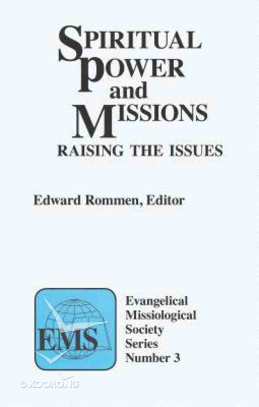 Emss #03: Spiritual Power and Missions Paperback