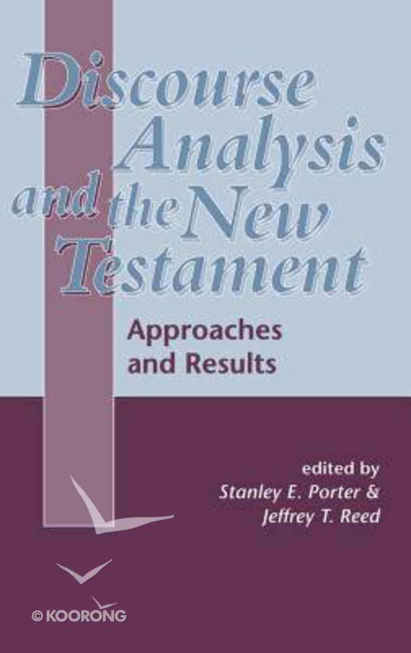 Discourse Analysis and the New Testament Hardback