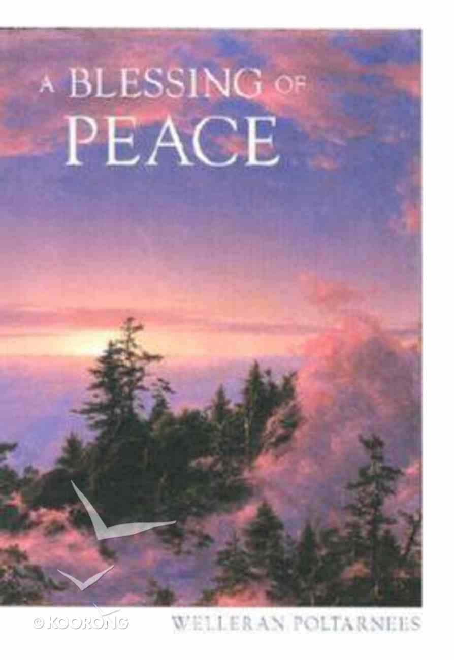 A Blessing of Peace Hardback