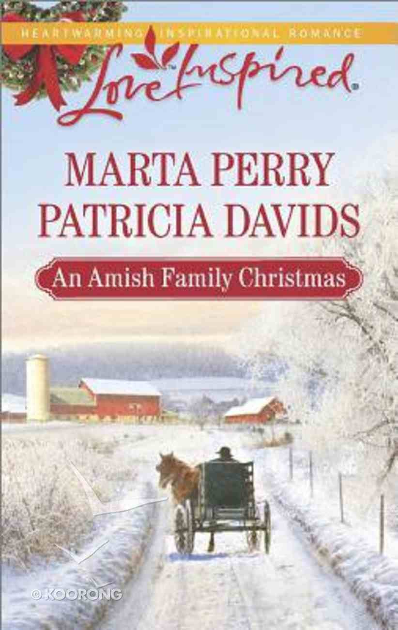 An Amish Family Christmas (Heart of Christmas/A Plain Holiday) (Love Inspired 2 Books In 1 Series) Mass Market