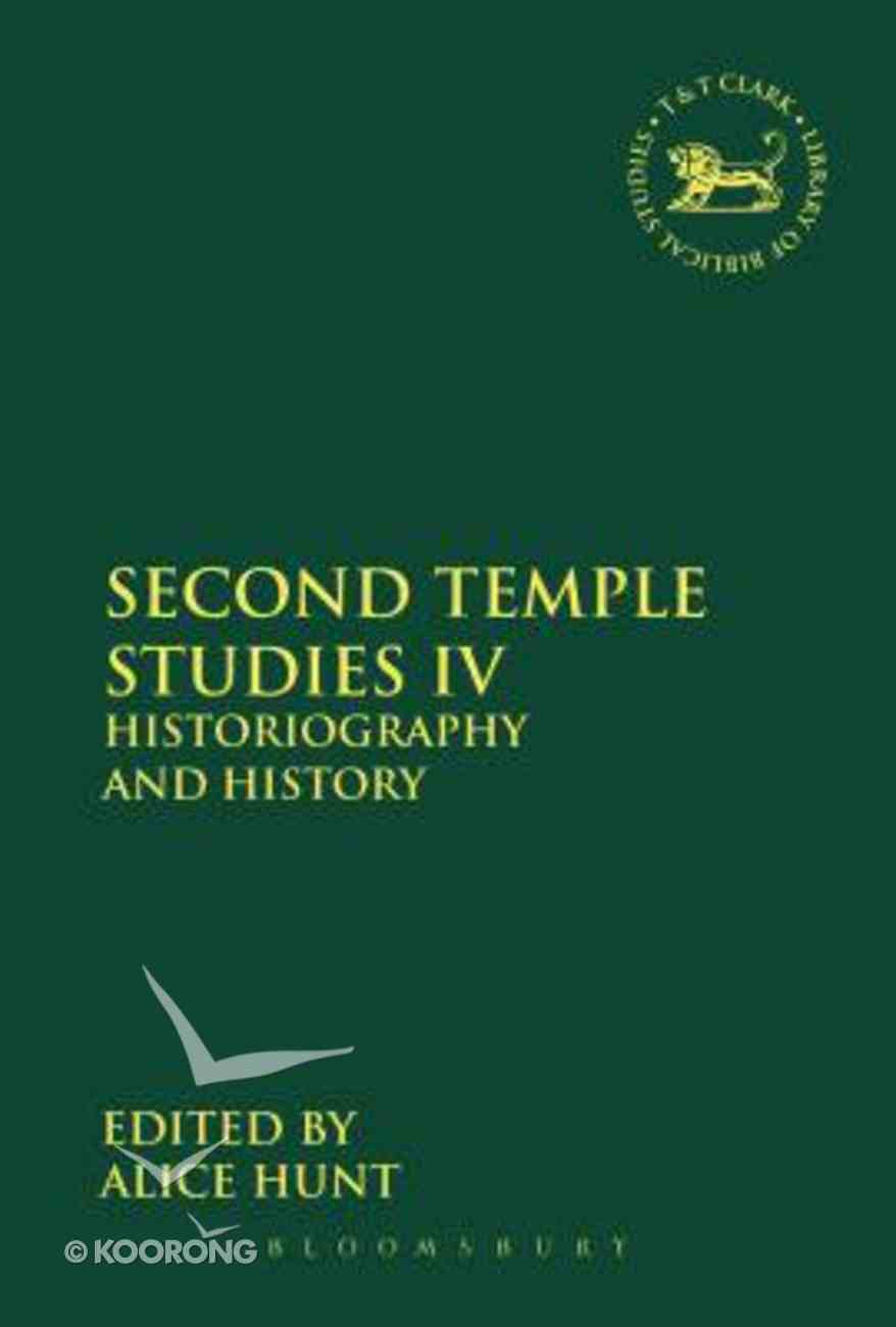 Second Temple Studies IV (Library Of Hebrew Bible/old Testament Studies Series) Paperback