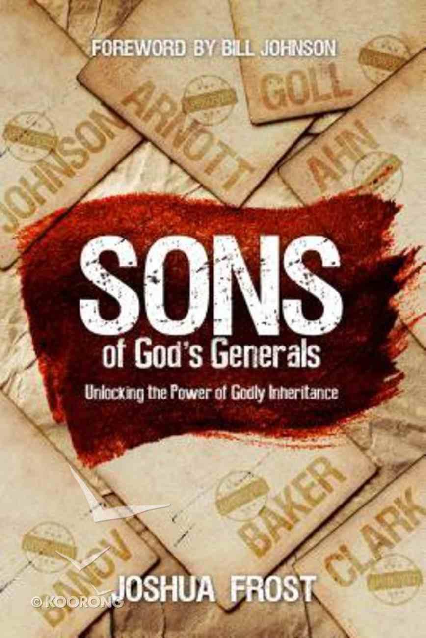 Sons of God's Generals Paperback