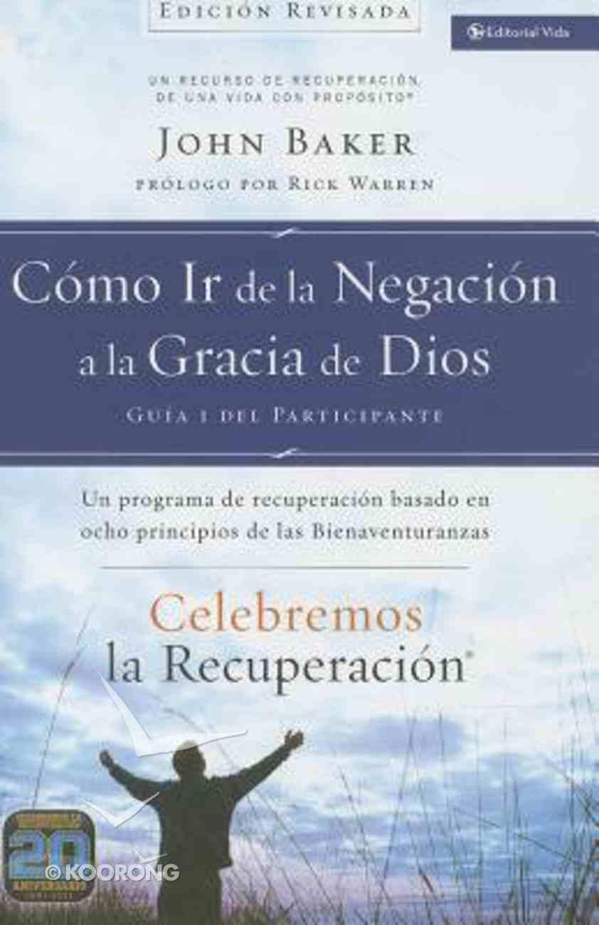 Celebremos La Recuperacin Gua 1: Cmo Ir De La Negacin a La Gracia De Dios (Celebrate Recovery Guide 2: How To Go From Negativity To God's Grace) Paperback