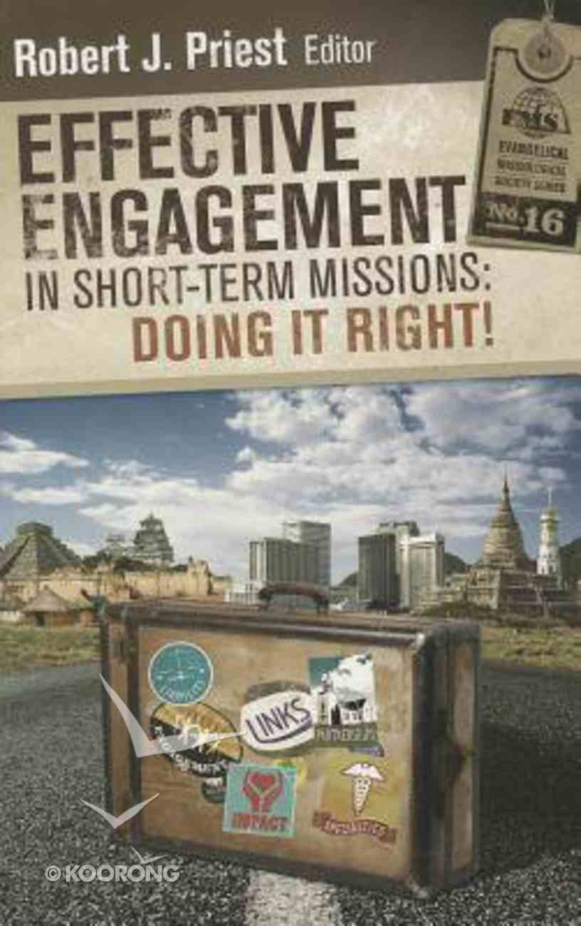 Effective Engagement in Short-Term Missions Paperback