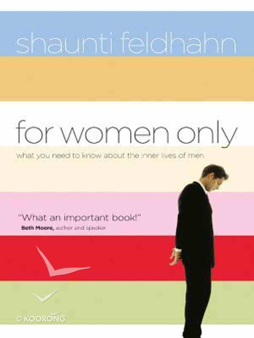 For Women Only (Large Print) Paperback