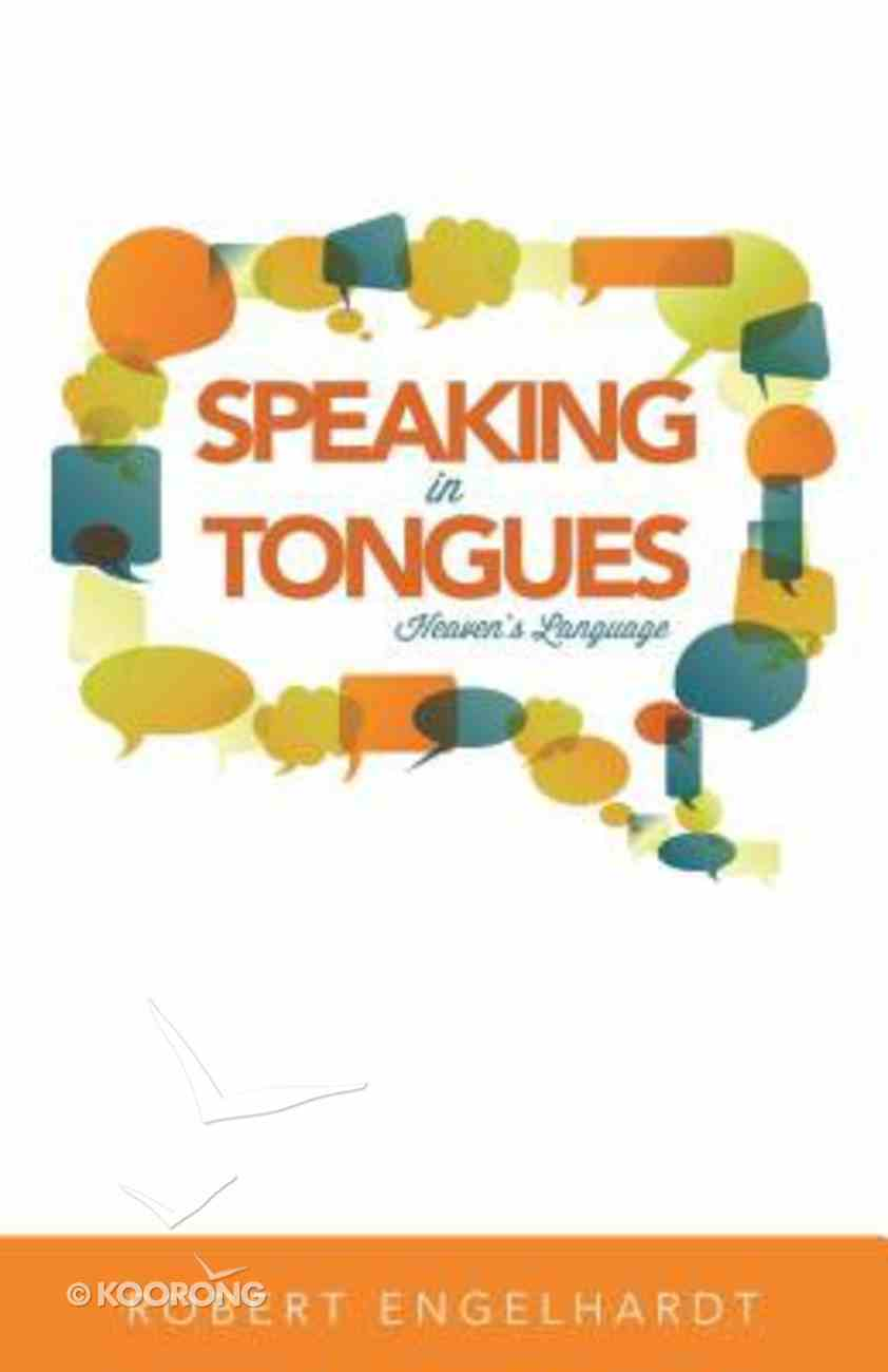 Speaking in Tongues Paperback