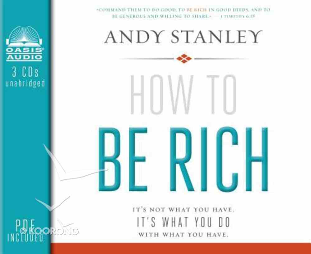 How to Be Rich (Unabridged, 3 Cds) CD