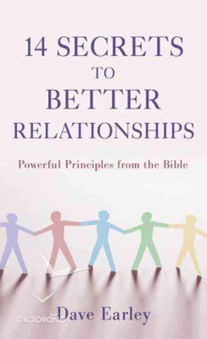 14 Secrets to Better Relationships Mass Market
