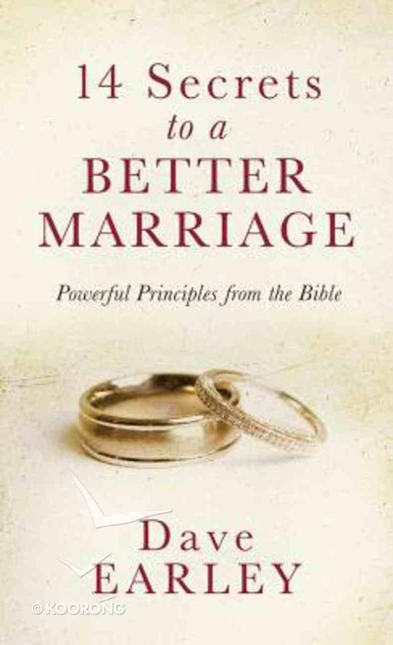 14 Secrets to a Better Marriage Mass Market