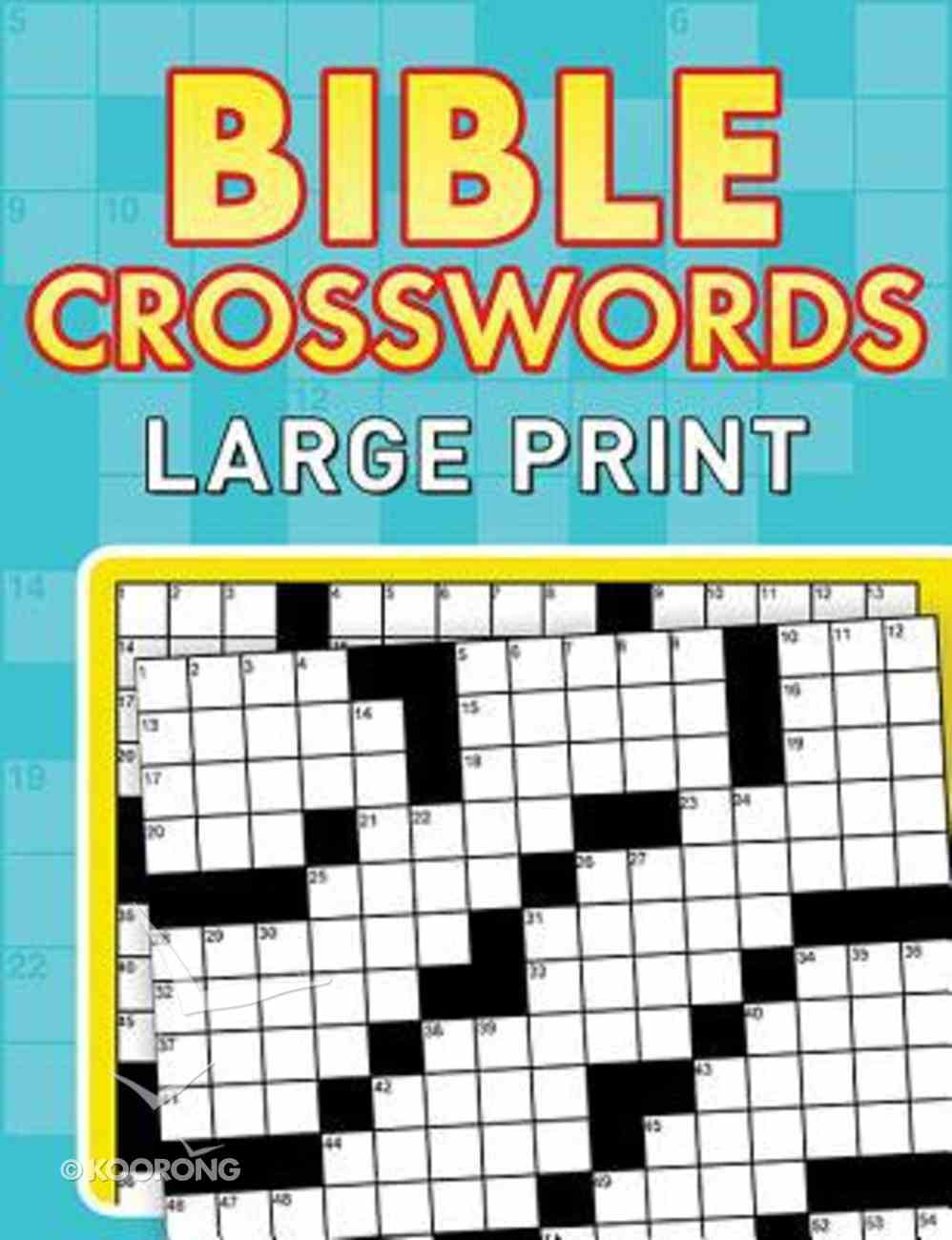 Bible Crosswords (Large Print) Paperback