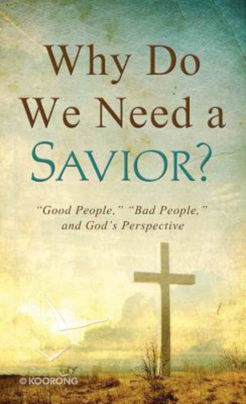 Why Do We Need a Savior? (Value Book Series) Paperback
