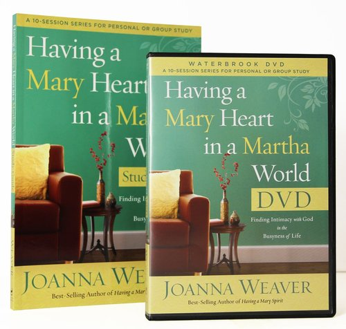 Product: Having A Mary Heart In A Martha's World (Dvd & Participant's Guide) Image