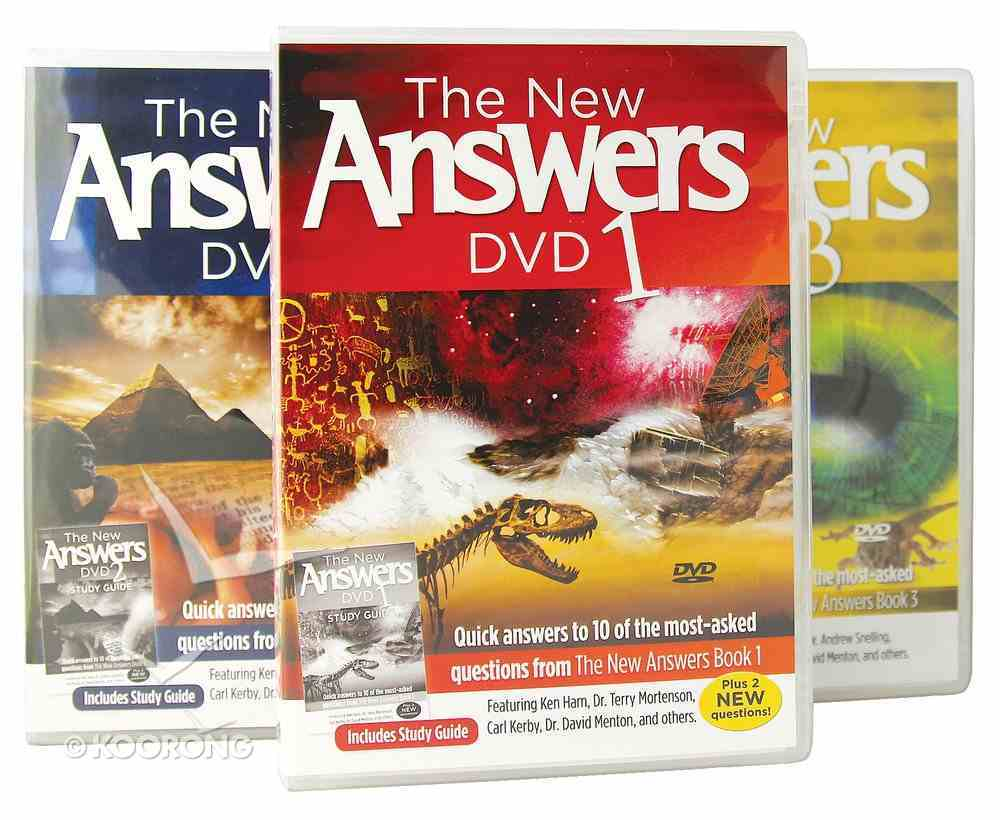 New Answers #01 - #03 DVD