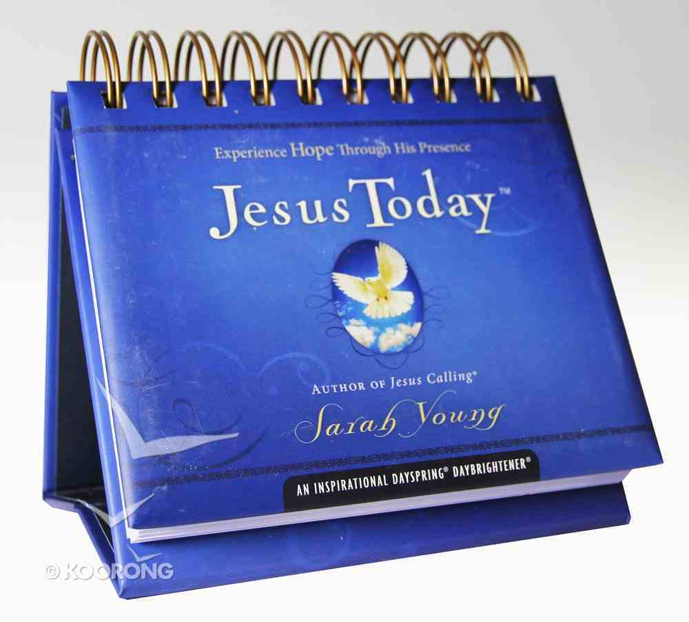 Daybrighteners: Jesus Today (Padded Cover) Spiral