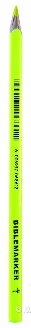 Dry Highlighter Pencil: Neon Yellow Stationery