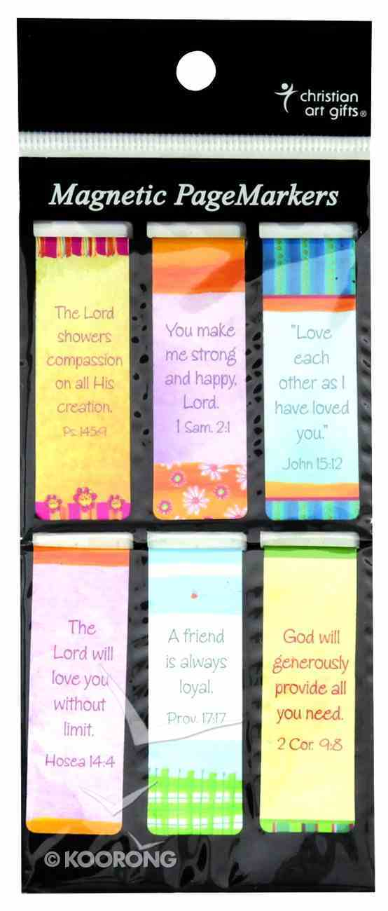 Bookmark Magnetic: Friendship (Set Of 6) Stationery