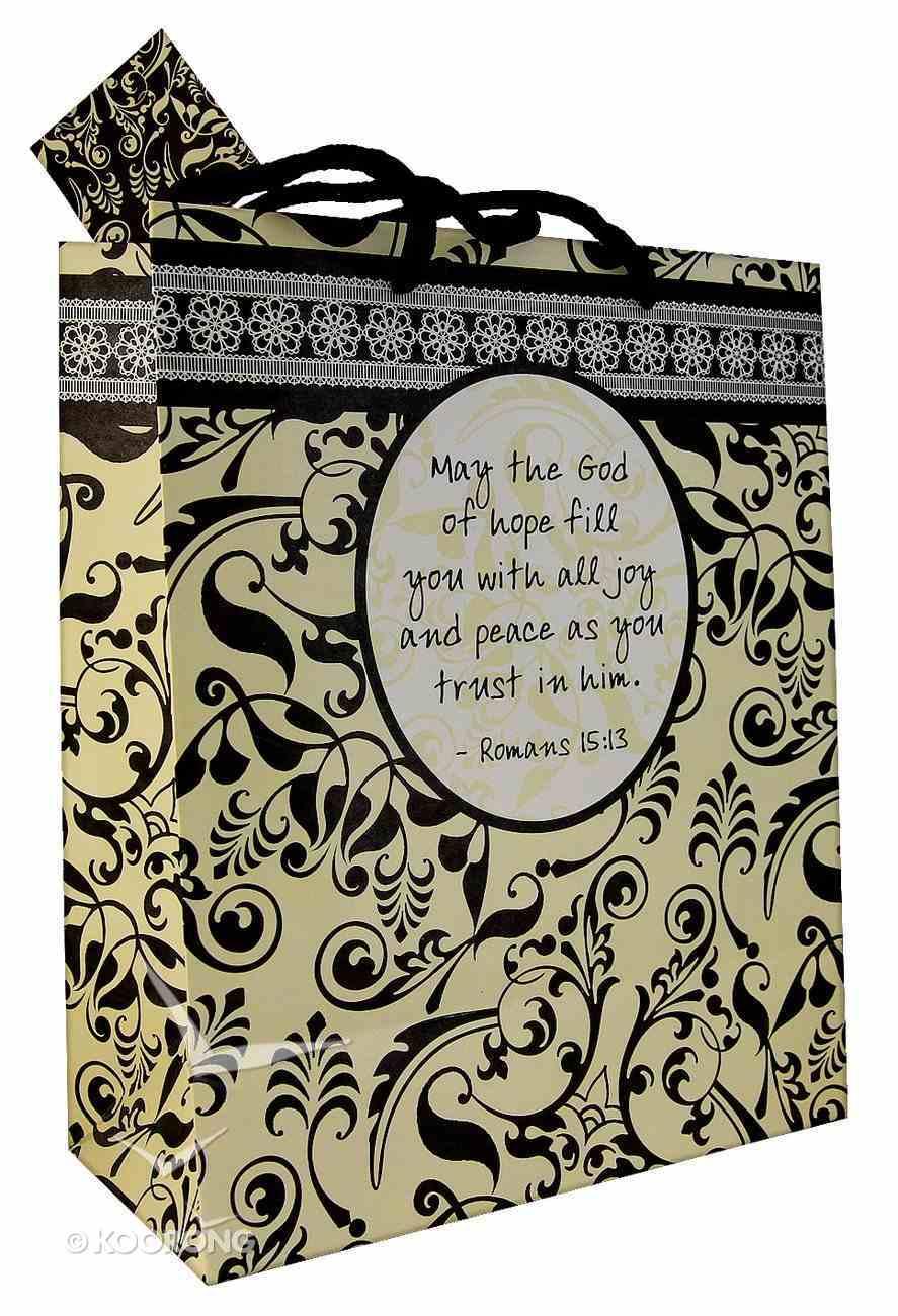 Gift Bag Medium: Shabby Chic Romans 15:13 May the God of Hope...... Stationery