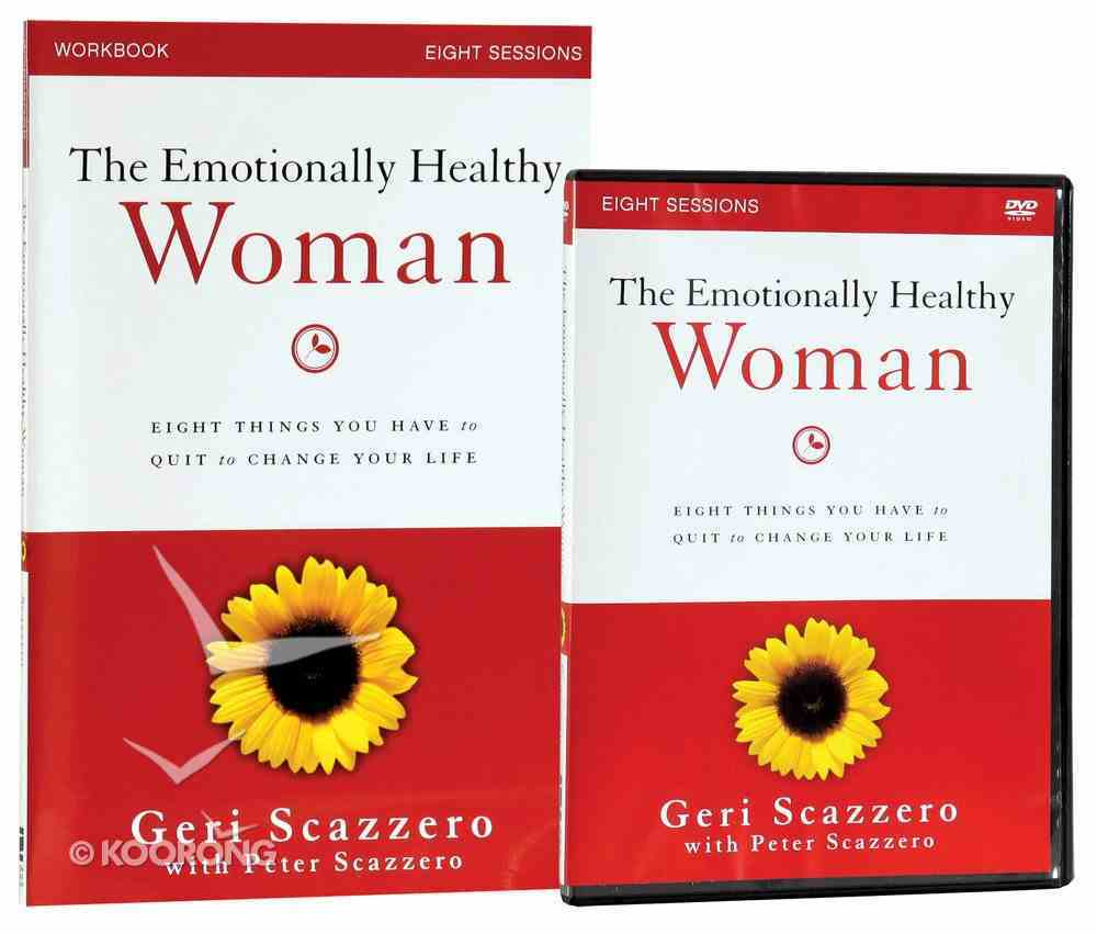 Emotionally Healthy Woman (Study Guide With Dvd) Pack