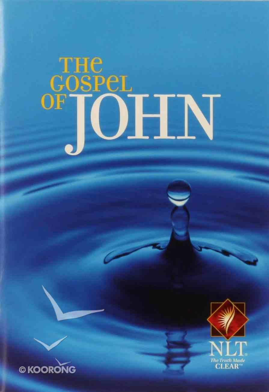 NLT Gospel of John (Black Letter Edition) (10 Pack) Paperback