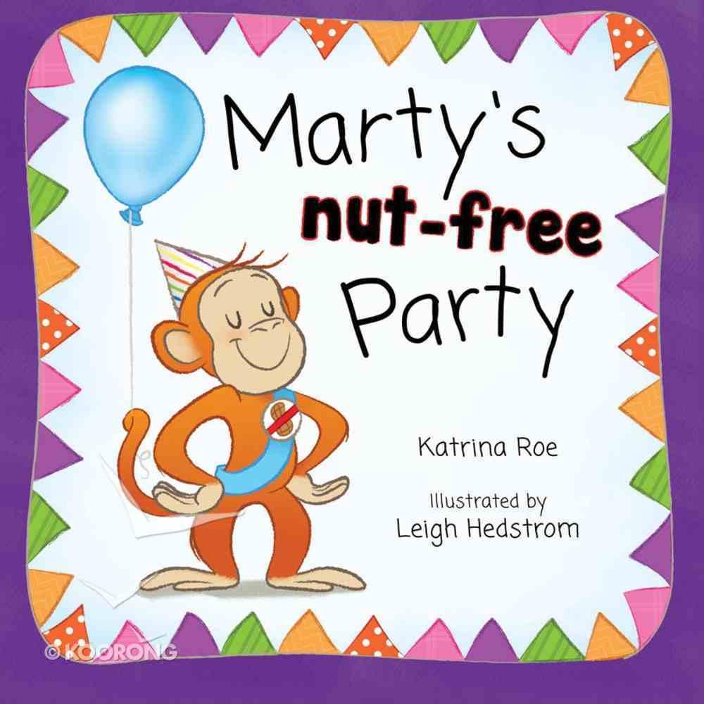Marty's Nut-Free Party Hardback