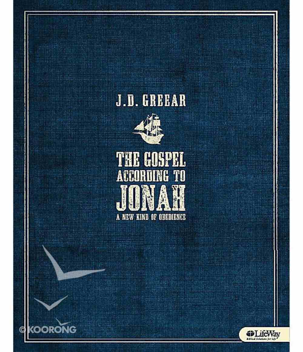 Gospel According to Jonah, the - a New Kind of Obedience (6 Sessions) (Leader Kit) Pack