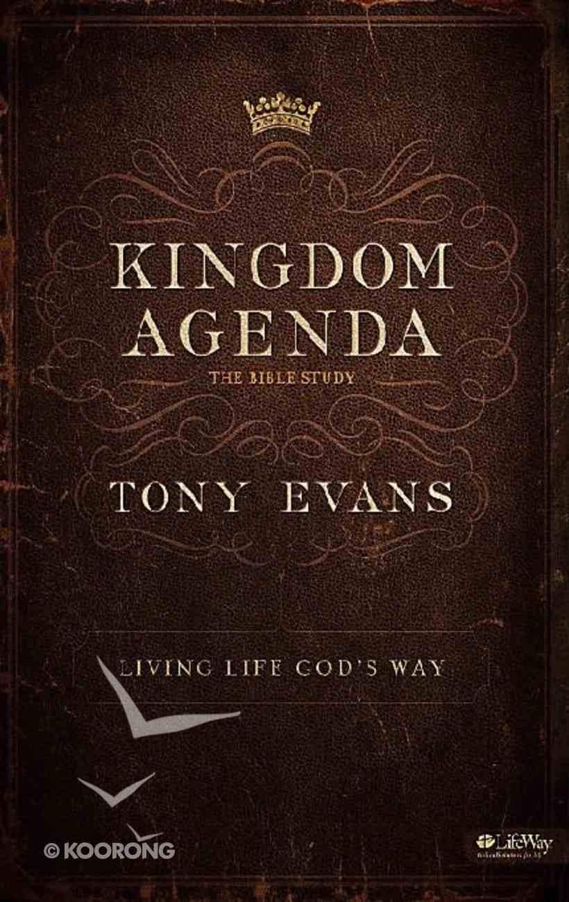Kingdom Agenda - Living Life God's Way (6 Sessions) (Leader Kit) Pack